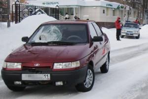 ДТП в Печоре, на ул. Гагарина