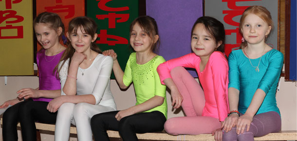Соревнования по ОФП среди гимнасток секции ДДТ г. Печоры