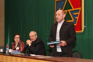XI конференция «За спасение Печоры». Федор Терентьев
