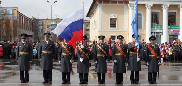 Празднование Дня Победы в Печоре