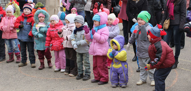 Ярмарка в детском саду «Белоснежка» города Печоры