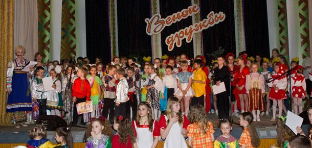 XII фестиваль национальных культур «Венок дружбы» в Печоре