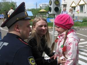 Открытие мини-улицы в детском саду «Белоснежка» в Печоре