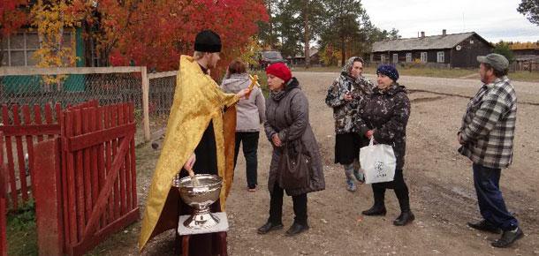 В поселке Красный Яг впервые в Печорском районе появились святые источники