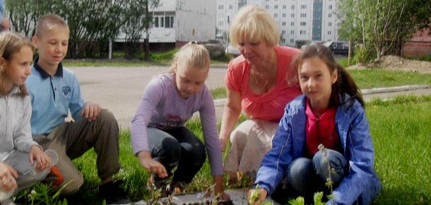 Экологическая акция «Цвети, мой город!» в Печоре