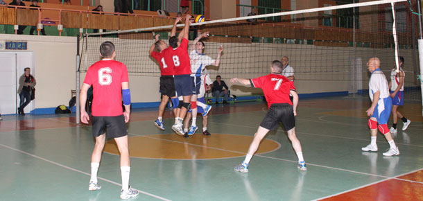 В Печоре прошел  турнир по волейболу