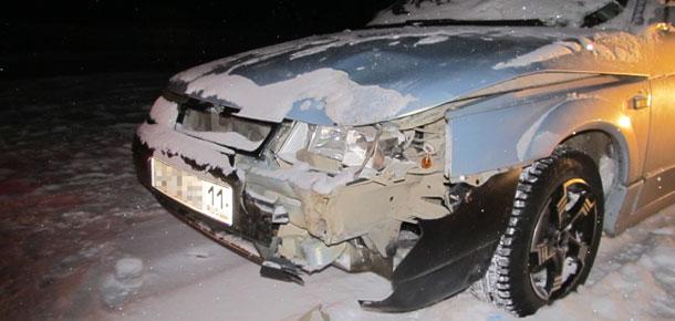 ДТП с пострадавшим пешеходом в Печоре