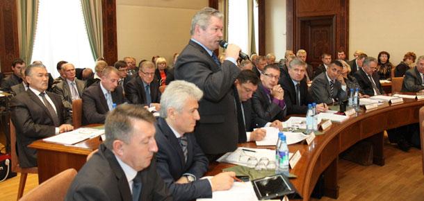 Доклад главы администрации МР «Печора» Виктора Николаева
