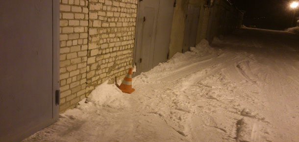 ДТП со снегоходом в Печоре