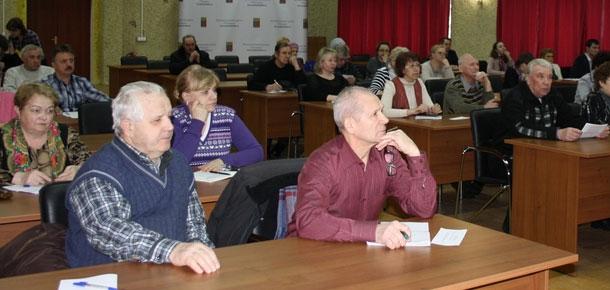 В сессионном зале администрации МР «Печора» состоялось заседание Совета общественности МР «Печора»
