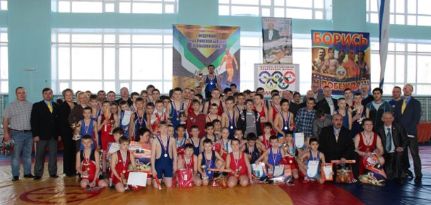 Успех печорских борцов на Международном турнире финно-угорских народов