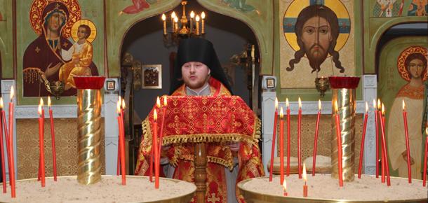 Поздравление иеромонаха Климента, настоятеля храма «Спаса Нерукотворного» г. Печоры, благочинного Печорского церковного округа