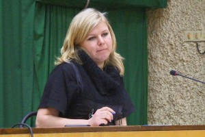 Депутат Елена Олейник, фото из архива