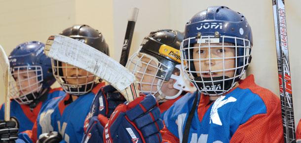 Матчи по хоккею с шайбой в печорском ледовом дворце