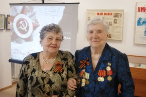 Мероприятие, посвященное Дню Победы в печорском музее