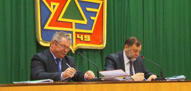 Состоялось очередное, двадцать седьмое, заседание Совета МР «Печора»