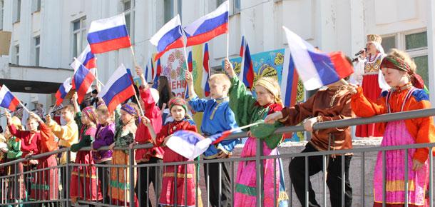 Празднование Дня России прошло сегодня в Печоре