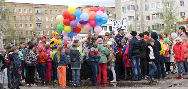 В Доме детского творчества Печоры состоялся праздник по случаю открытия детских оздоровительных лагерей с дневным пребыванием