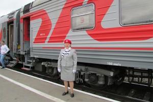 14 июня в  Воркуту  прибыли пассажиры первого рейса  нового фирменного поезда №41/42 «Москва – Воркута»