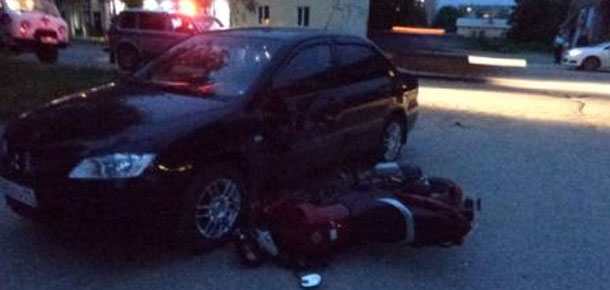 В Печоре в ДТП пострадал мотоциклист