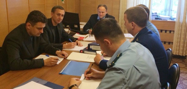 Оперативное совещание с работниками Печорской транспортной прокуратуры