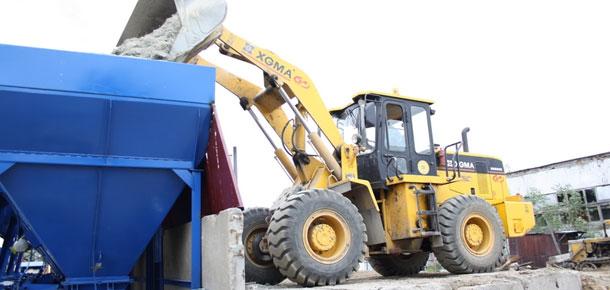 В Печоре прошлоj торжественное открытие нового асфальтобетонного завода
