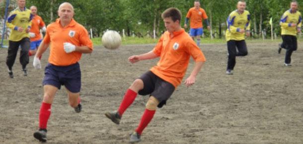 В Печоре в ИК-49 среди осужденных состоялись турниры по футболу и волейболу