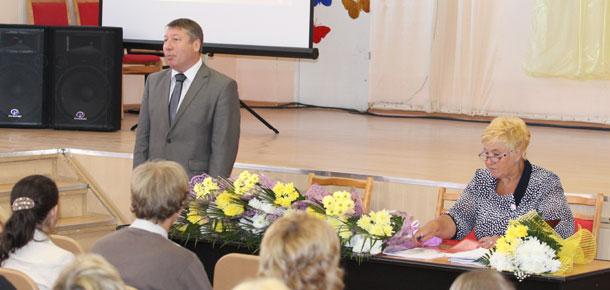Городская учительская конференция прошла сегодня в Печоре