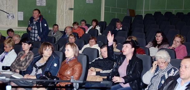 Состоялась встреча главы администрации МР «Печора» с жителями железнодорожной части города