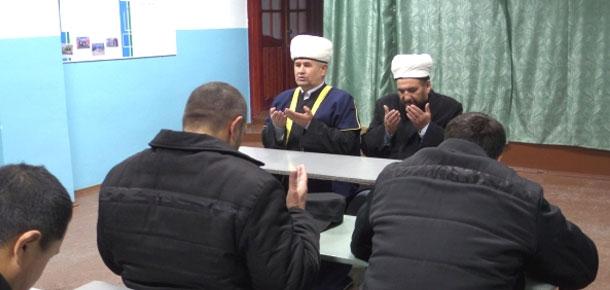 Печорскую колонию посетил посетил председатель Духовного управления мусульман Республики Коми