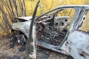 В Печоре совершено нападение на таксиста, машина сожжена
