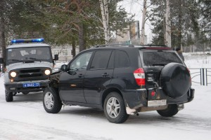 В Печоре в результате погони был задержан злостный нарушитель ПДД