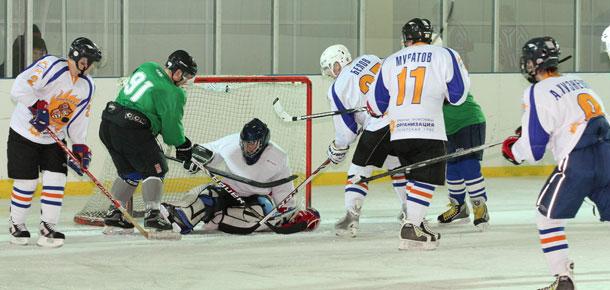 Состоялся очередной матч чемпионата Печоры по хоккею