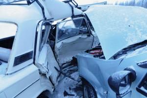 Серьезное ДТП с участием двух легковых автомобилей в Печоре