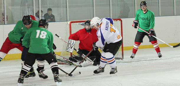 Состоялся очередной матч второго круга первенства МР «Печора» по хоккею с шайбой