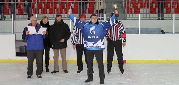 В Печоре прошли соревнования Ночной хоккейной лиги
