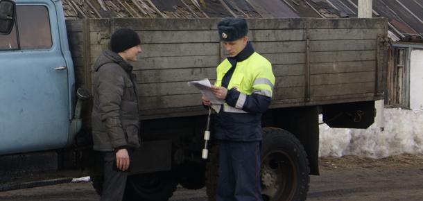 На территории МР «Печора» сотрудниками Госавтоинспекции проводится оперативно-профилактическое мероприятие «Грузовик»
