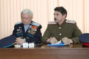 Игорь Ковзель провел с казаками Печоры