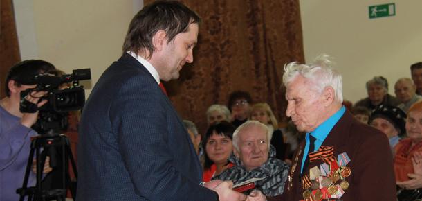 В Печоре вручили медали ветеранам Великой Отечественной