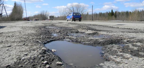 Ремонт дорог в Печоре не ожидается…
