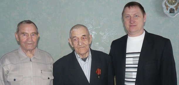 В Печорском районе началось вручение юбилейных медалей «70 лет Победы в Великой Отечественной войне»