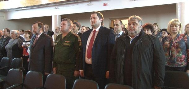 Печора приняла участие в эстафете передачи копии Знамени Победы
