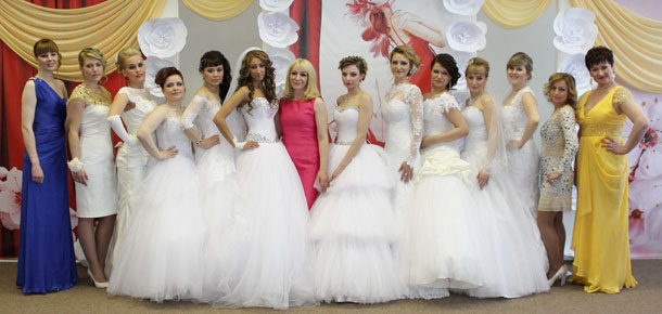 В Печоре состоялся ежегодный показ мод «Весеннее вдохновение»