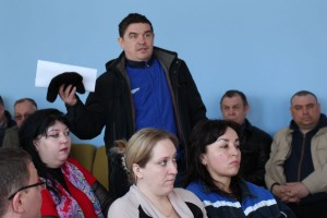Встреча с работниками Печорской ГРЭС по ситуации с трудоустройством