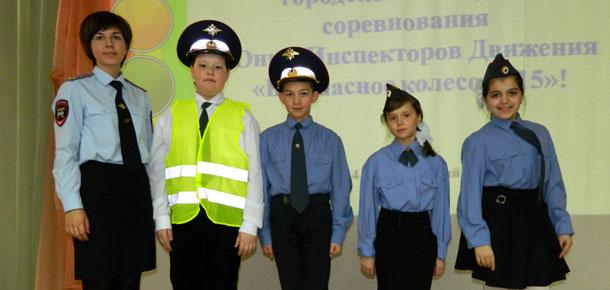 В Печоре прошел  конкурс юных инспекторов движения «Безопасное колесо – 2015»