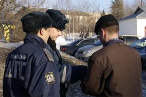 13 апреля на улицы и дороги МР «Печора» были введены дополнительные наряды дорожно-патрульной службы