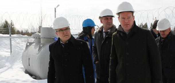 Второй день визита в Печору руководителя регионального кабмина Владимира Тукмакова
