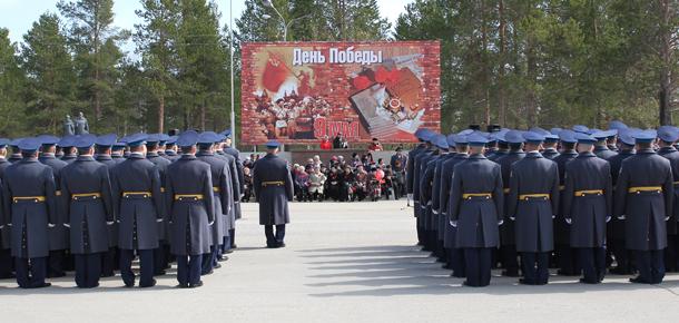 Празднование юбилея Великой Победы в Печоре на этот раз было особенно ярким