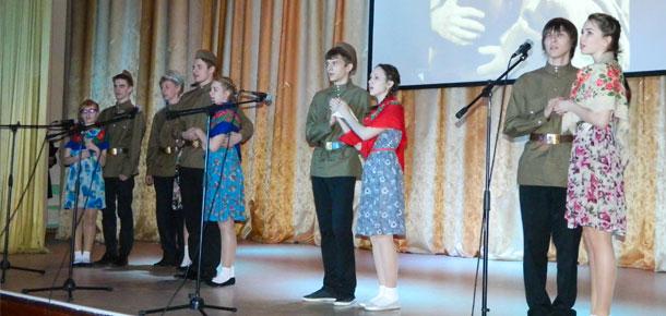 В Доме детского творчества Печоры состоялся конкурс  «Песни Великой Победы»