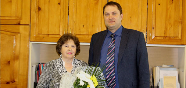 20 мая отметила юбилей эксперт архивного отдела администрации муниципального района «Печора» Шаталова Любовь Оттовна